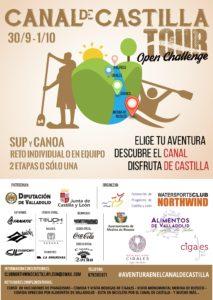 Cartel Canal de Castilla Tour – Open challenge