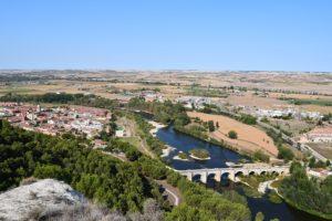 Valladolid en el territorio jurisdiccional y militar del castillo de Cabezón (Vista desde el antiguo Castillo)